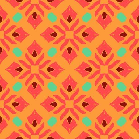 thai motifs: Oriental pattern with Indian, Thai ethnic motifs