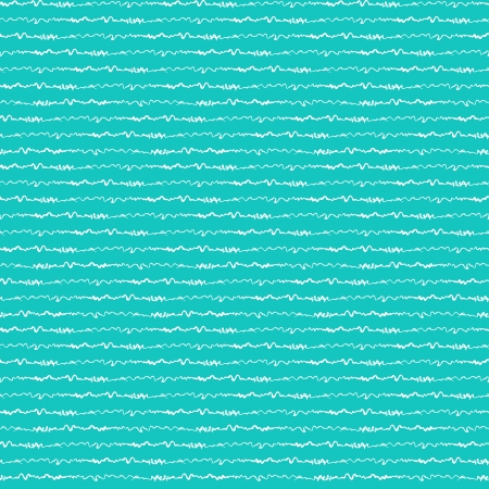 Nautical pattern inspired by ocean and sea waves Vector