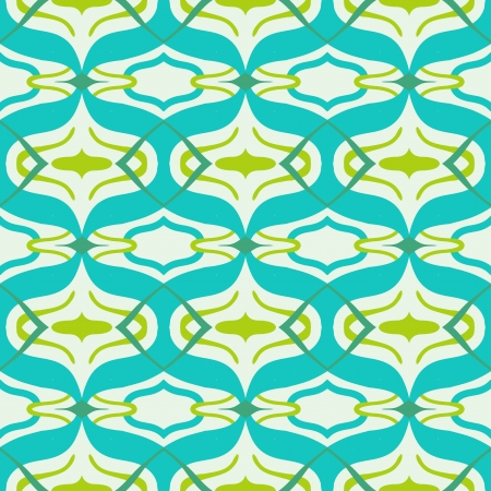Vector Arabic pattern in bright vibrant colors