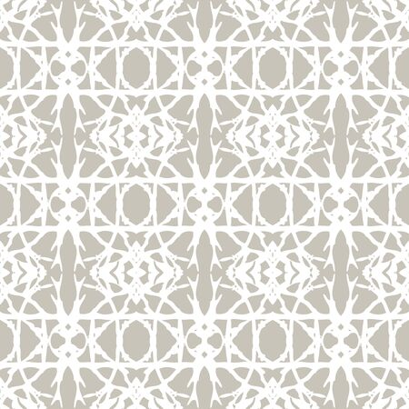 Lace pattern with white shapes in art deco style photo