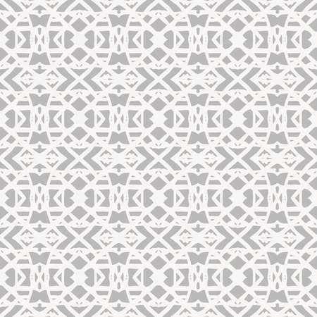 gray texture background: Lace pattern with white shapes in art deco style