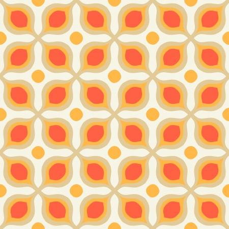 1970 년대 스타일의 대담한 기하학적 인 도형과 패턴 스톡 콘텐츠