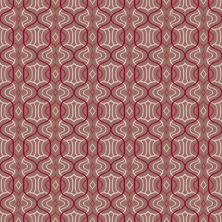 simple:  simple Moroccan pattern in organic brown