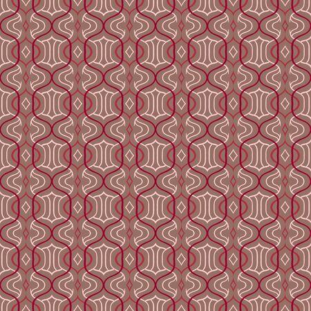 simple Moroccan pattern in organic brown Banco de Imagens - 21006422