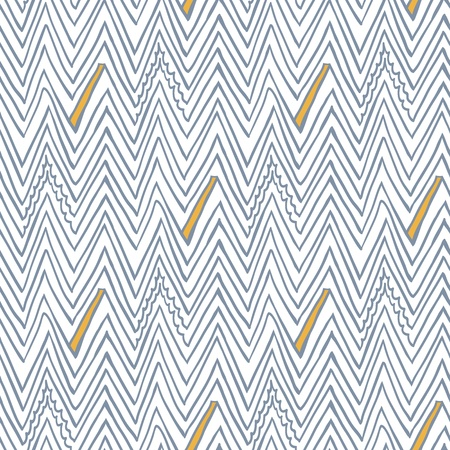 simple: Simple seamless vector pattern with zigzag lines