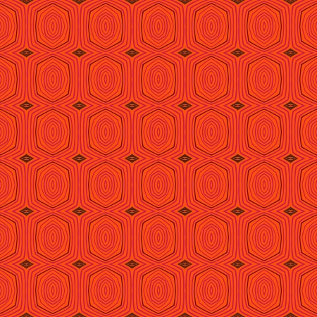 Seamless retro pattern with oval shapes in 1950s style. Texture for web, print, wallpaper, gift wrapping, website, wedding invitation background, fall summer fashion,  holiday & home decor Vector