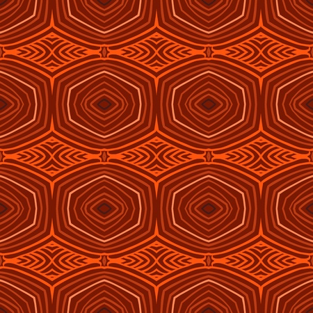 Seamless retro pattern with oval shapes in 1950s style. Texture for web, print, wallpaper, gift wrapping, website, wedding invitation background, fall summer fashion,  holiday and home decor