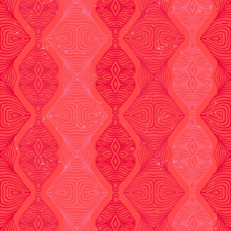 wintermode: Seamless Retro-Muster mit linearen Formen im Vintage-Stil. Texturen f�r Web, Print, Tapeten, Geschenkpapier, Website, Hochzeitseinladung Hintergrund, Herbst Winter Mode, Urlaub & Wohnkultur Illustration