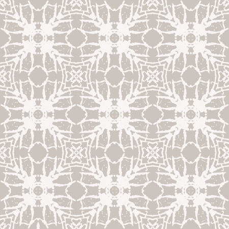 simple: Simple elegant lace pattern with white shapes Illustration