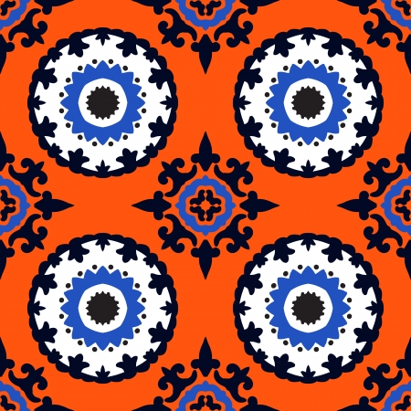 Texture with Uzbek, Turkish and Kazakh motifs for web, print, wallpaper, home decor, summer fall fashion textile, fabric, ceramic tile