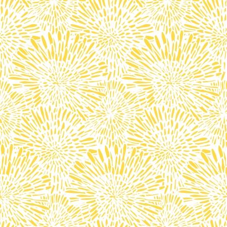 손으로 그린 된 빈티지 플로랄 패턴 민들레 또는 asters. 웹, 인쇄, 벽지, 봄 여름 패션, 청첩장 카드, 패브릭, 섬유, 선물 종이 원활한 벡터 질감