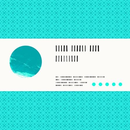 Carte De Vecteur Avec L Aquarelle Cercle Bleu Tropical De Fond Modele Pour La Promotion De La Spa Carte Cadeau Paquet De Savon Vente De Printemps