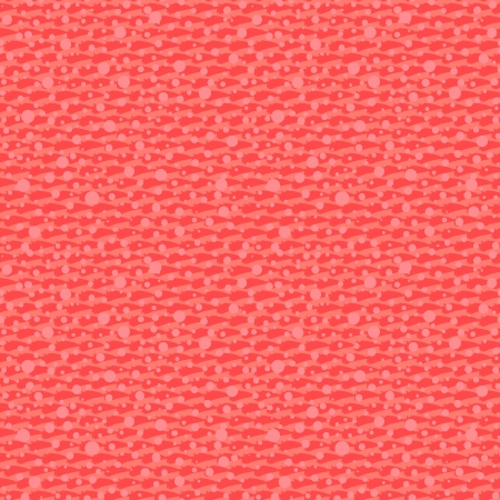 Small ditsy pattern with oval dots placed in rows in coral red color. Seamless vector texture for web, print, wedding invitation background, textile, fabric, spring summer fashion, wallpaper, decor Иллюстрация