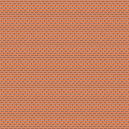 chipped: Small ditsy pattern with oval dots placed in rows in organic brown. Seamless vector texture for web, print, wedding invitation background, textile, fabric, spring summer fashion, wallpaper, decor Illustration