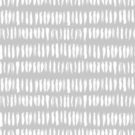 Hand drawn striped seamless pattern with short vertical brushstrokes in light grey color. Texture for print, wallpaper, home decor, spring summer fashion fabric, textile, invitation background, paper