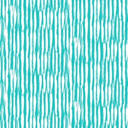 熱帯の青でブラシをかけられた縦線と縞模様。Web、印刷、壁紙、家の装飾、春夏ファッション織物、繊維、包装紙、招待状の背景のためのテクスチ  イラスト・ベクター素材