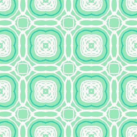 wintermode: Vector geometrischen Art-Deco-Muster mit wei�en Formen auf gr�n. Luxus-Textur f�r Print-, Website-Hintergrund, Urlaub Dekor im Stil der 1930er Jahre, Weihnachten Geschenkpapier, fallen Wintermode. Textil-, Gewebe