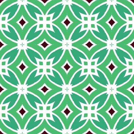 Vector multicolor ethnic pattern with Indian, Arabic and Turkish motifs. Texture for web, print, wallpaper, home decor, fall summer fashion, website or oriental restaurant menu background