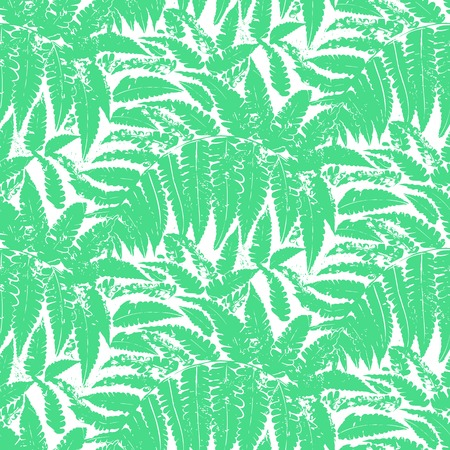 grass silhouette: Seamless floral pattern inspired by leaves of tropical plants and nature