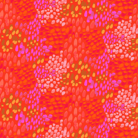 Animal pattern inspired by tropical fish skin 일러스트