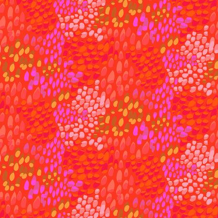 escamas de peces: Patrón de animal inspirado en la piel de peces tropicales