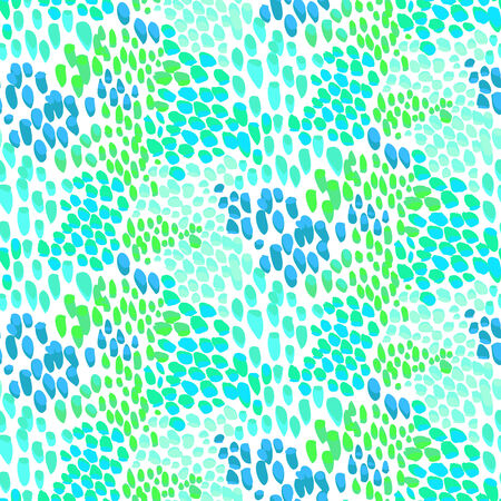 speckled: Animal pattern inspired by tropical fish skin Illustration