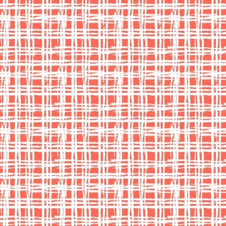 Vintage striped pattern with brushed lines Vector