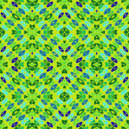 Hand drawn colorful geometric pattern Vector