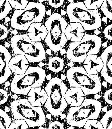 Seamless geometric pattern dans le style hippie moderne Banque d'images - 32161122