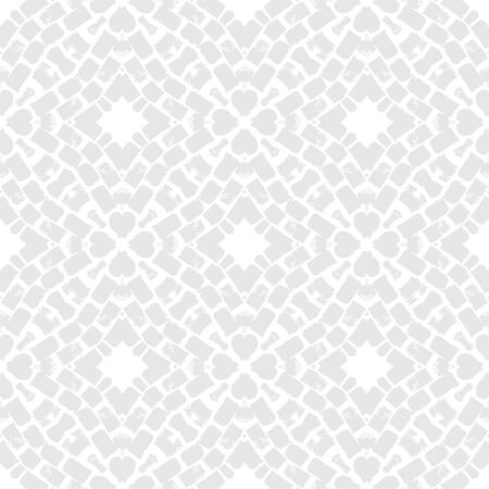 grey pattern: White geometric texture in art deco style
