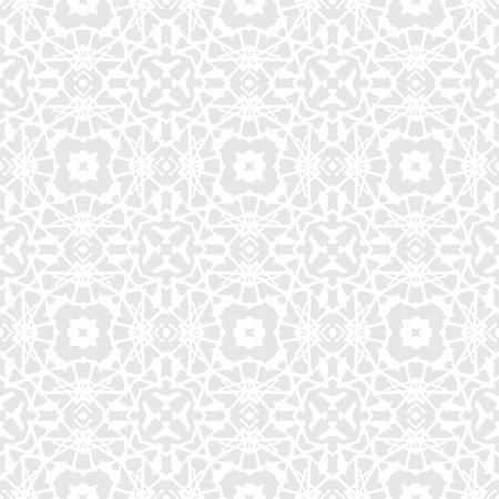 bohemian: White geometric texture in art deco style