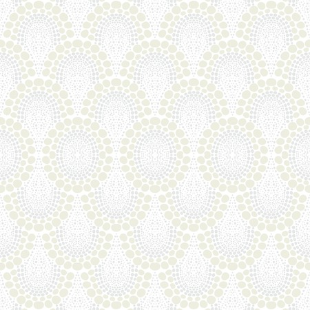 small scale: White geometric texture in art deco style