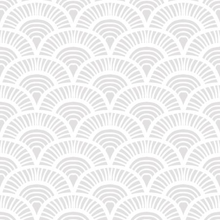 Vintage hand drawn art deco pattern