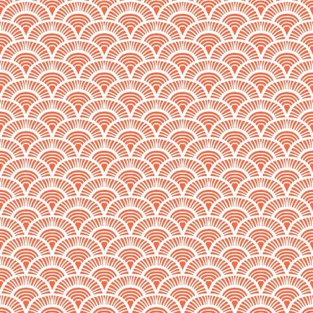 Modèle de déco à main vintage d'art dessiné avec des motifs d'échelle. Vector seamless fond dans les années 1930 et 1920 le style de la mode Banque d'images - 33042223