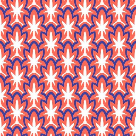 Vintage hand drawn art deco pattern Vector