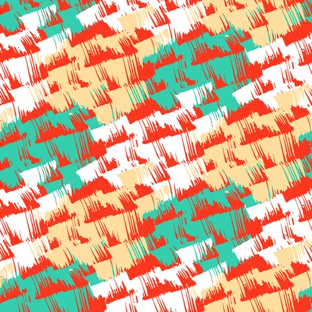 hand painted: Grunge hand painted abstract pattern Illustration