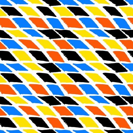 bold: Colorful bold harlequin pattern