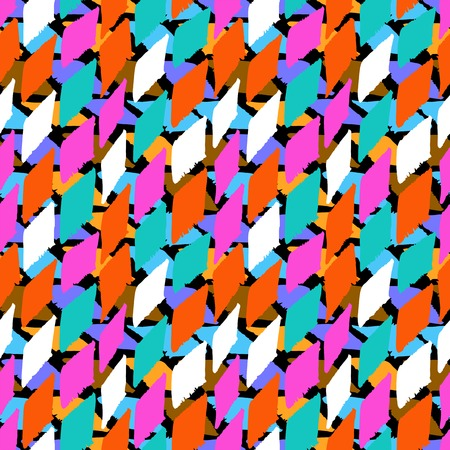 Vector seamless bold harlequin pattern Vector