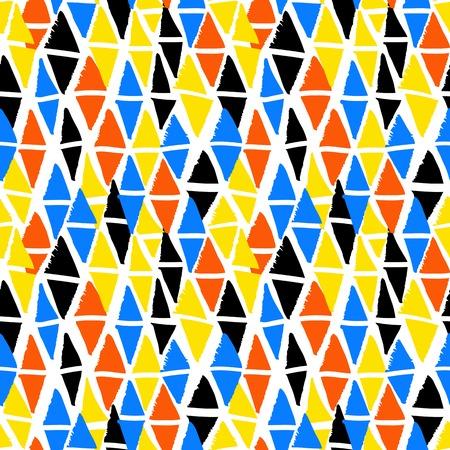 bold: Vector seamless bold harlequin pattern