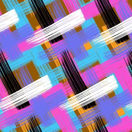bold: Vector seamless bold plaid pattern