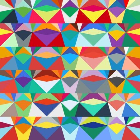 Colorful geometric pattern Иллюстрация