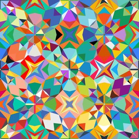 Bunte geometrische Muster