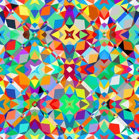 Colorful geometric pattern Illusztráció