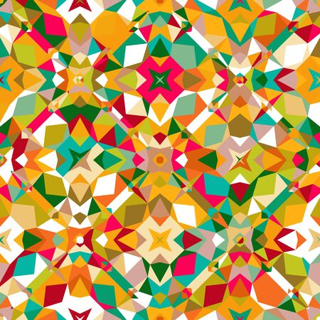 Colorful geometric pattern Ilustrace