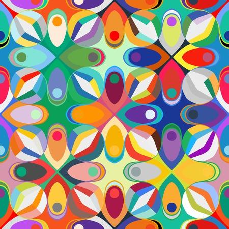 Abstract geometric seamless pattern Illustration