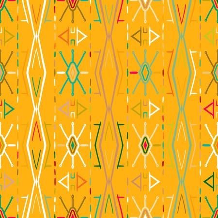 inka: Vector seamless ethnic pattern