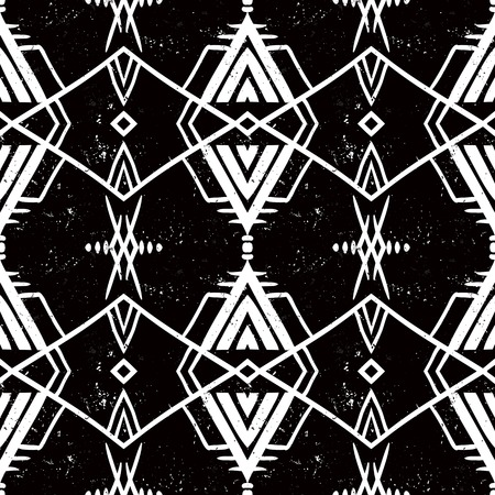 mayan culture: seamless ethnic pattern