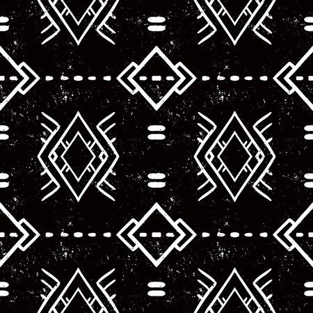 navajo tribal ornament Illustration