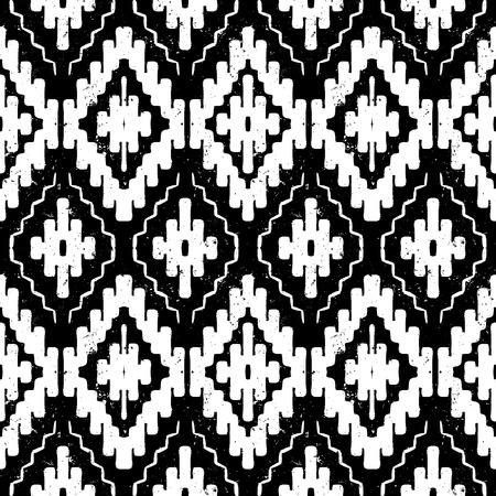 tribales: Vector navajo ornamento tribal