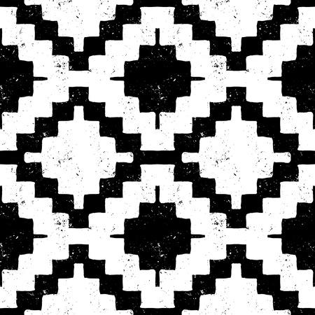 mayan culture: navajo tribal ornament Illustration
